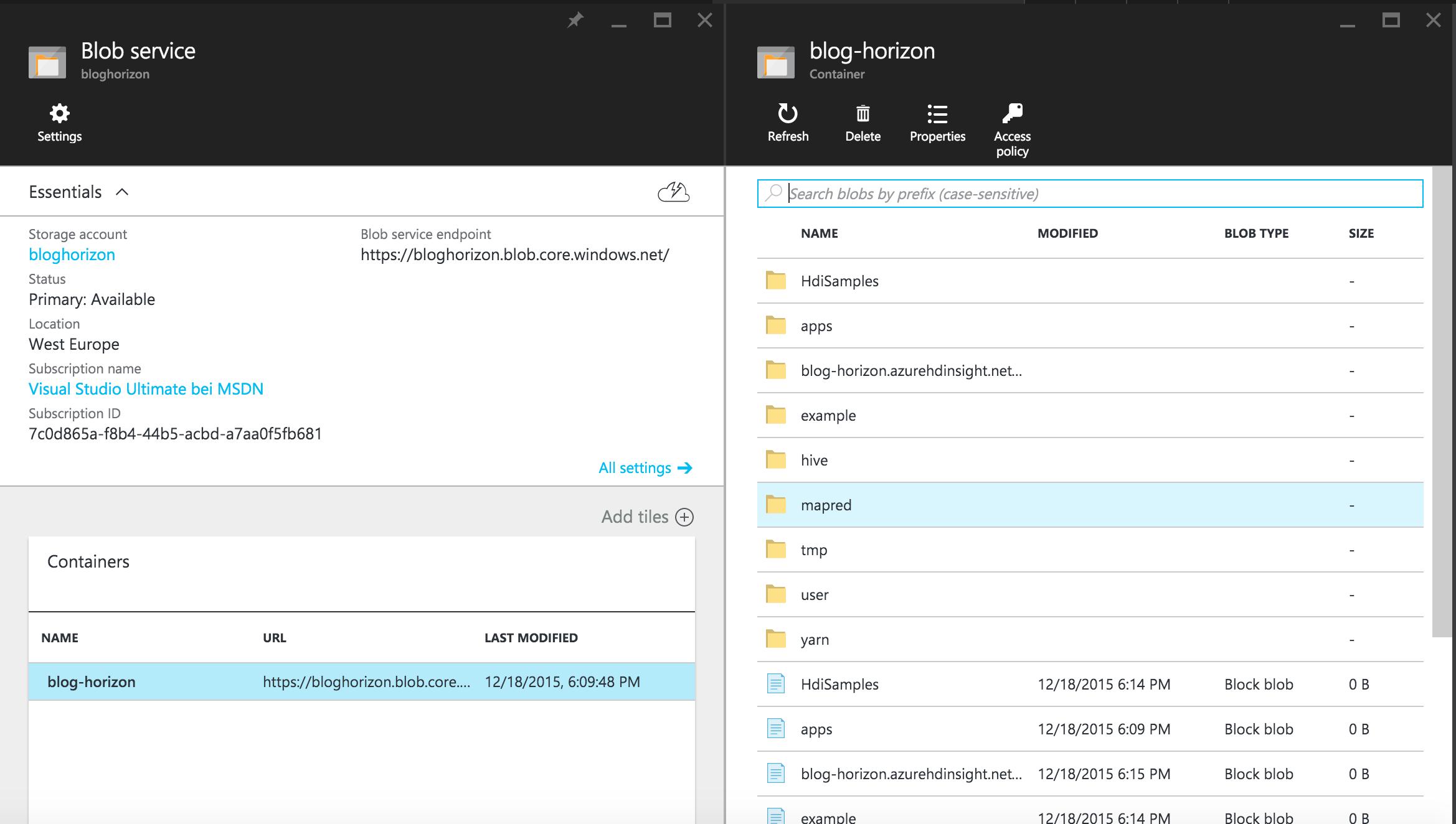 Zeppelin and Spark SQL on HDInsight   Jan @ Development